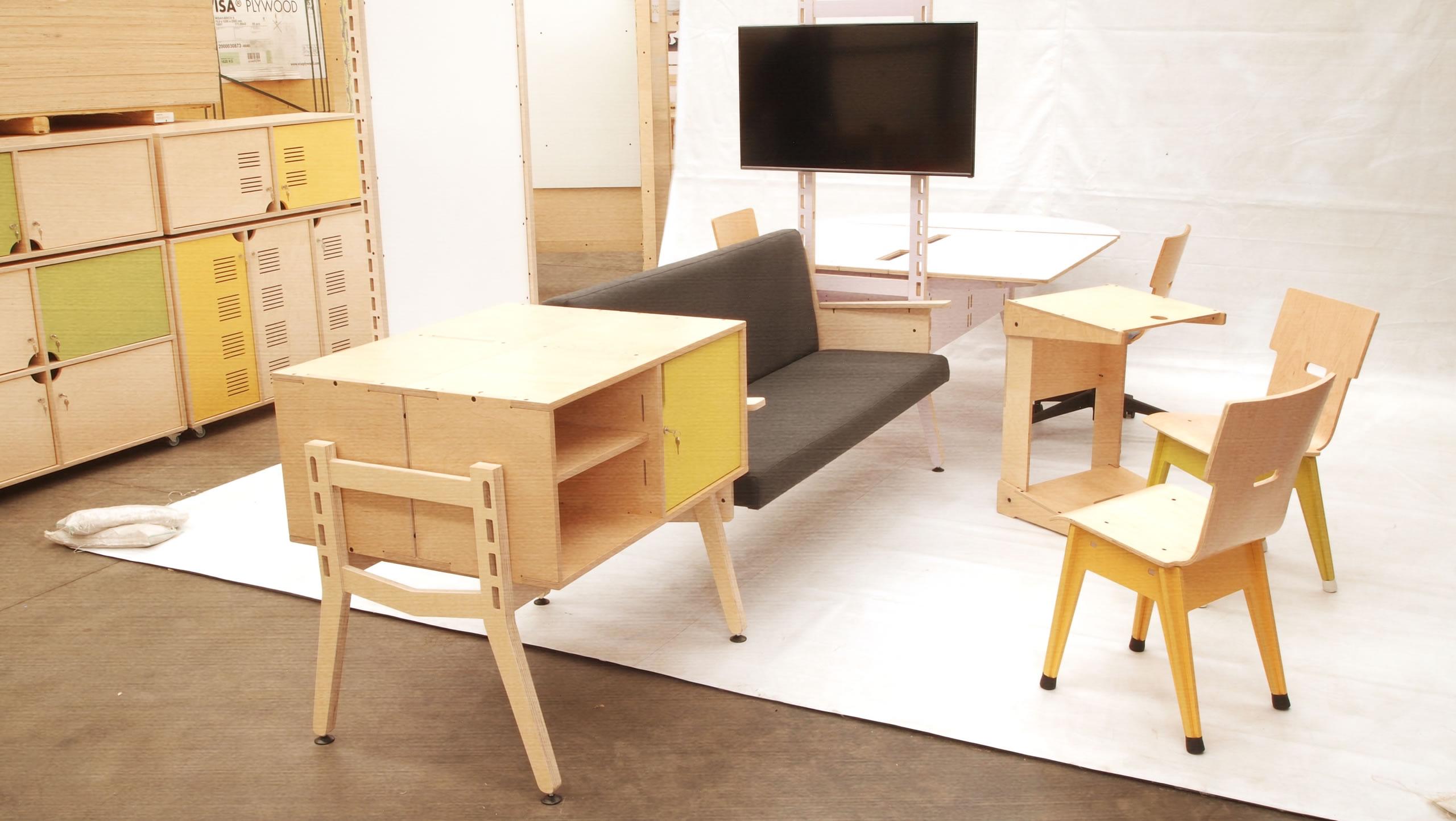 Superieur Spyne Raw Studios New Modular Office Furniture Sytem Range