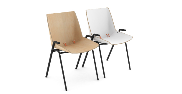 stak chair steel frame