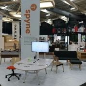 Raw Studios office furniture Insider trade show stand 2016
