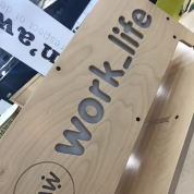 Raw Studios office furniture Insider trade show Worklife stand 2016
