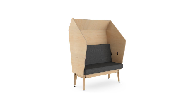 pod high-back couch