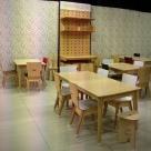 RAW-licious Café at Decorex - All furniture supplied by RAW Studios