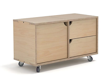 603_800_Side-Stor-Single_Castor_Drawers