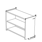 klik™ small box shelf