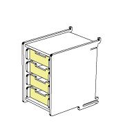 klik™ office drawer 4