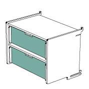 klik™ double drawer 1
