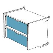 klik™ double drawer 2