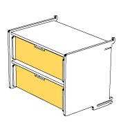 klik™ double drawer 5