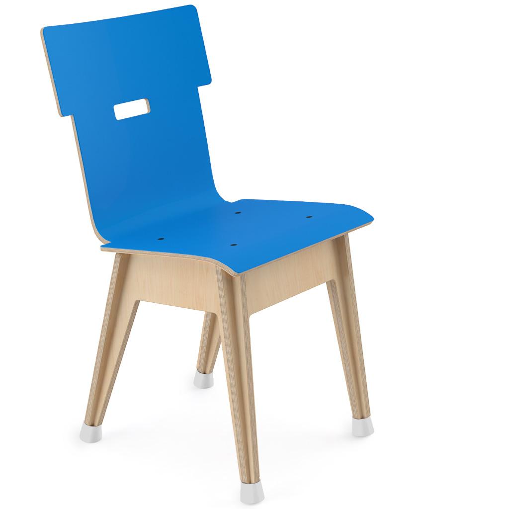 Din+™ Chair 100 (Ultra Blue HPL)