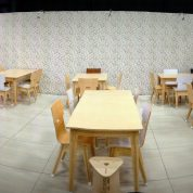 RAW-licious Café at Decorex - All furniture supplied by RAW Studios