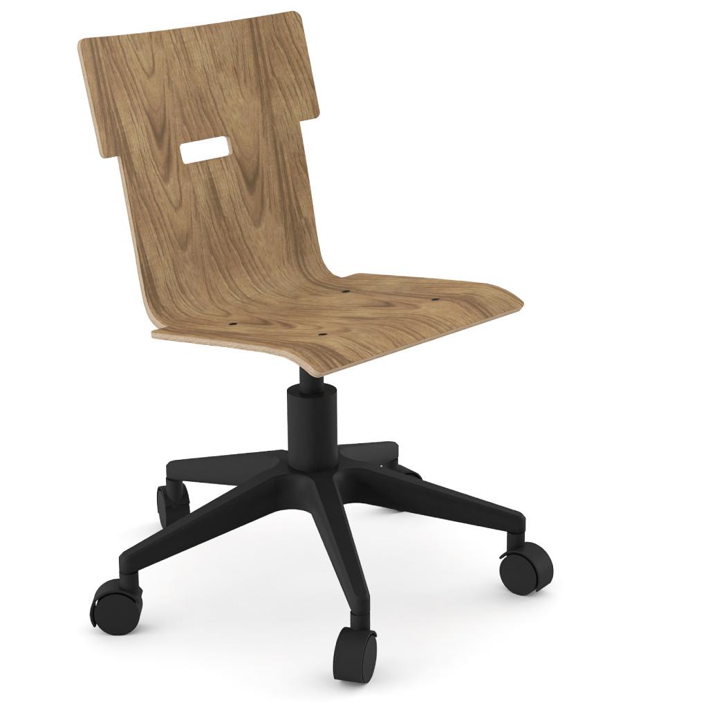Handi Chair 100 (Walnut HPL)