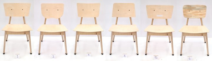 Seat and back shape development
