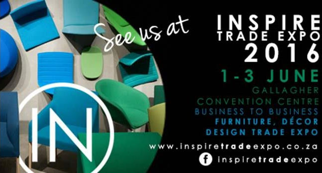 See us at Inspire Trade Expo 1 - 3 June 2016