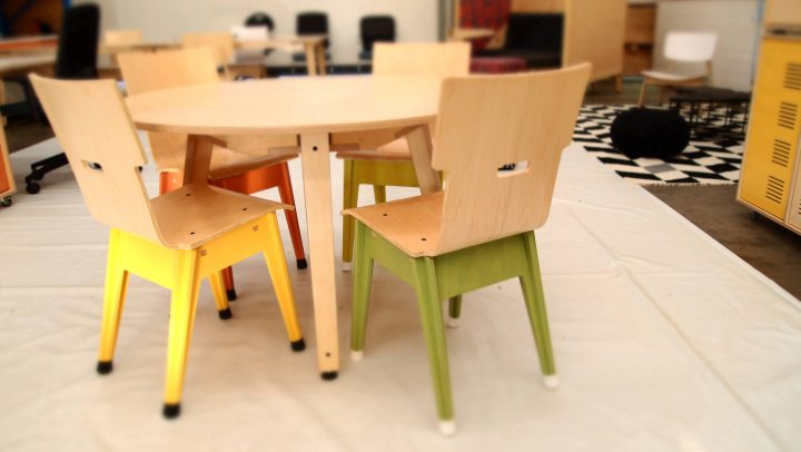 RAW Studios Customerization Din+ Range Furniture tables chairs