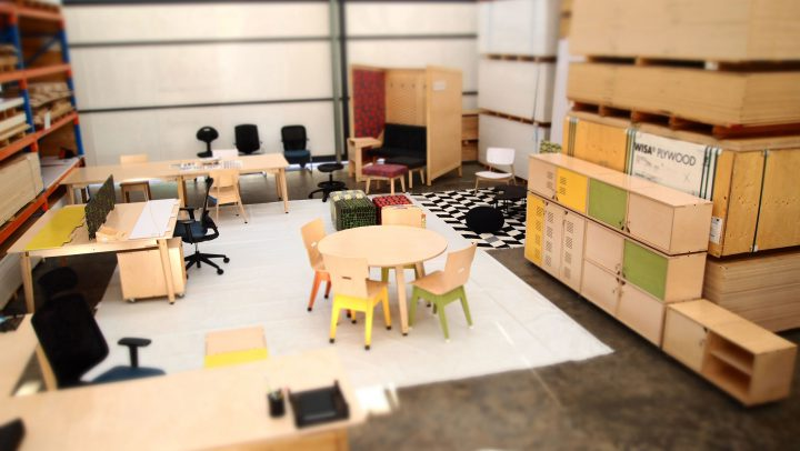 RAW Studios Customerization Office Range Workspace Storage Co-space Storage