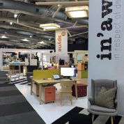 Raw Studios office furniture Insider trade show InAwe stand 2016