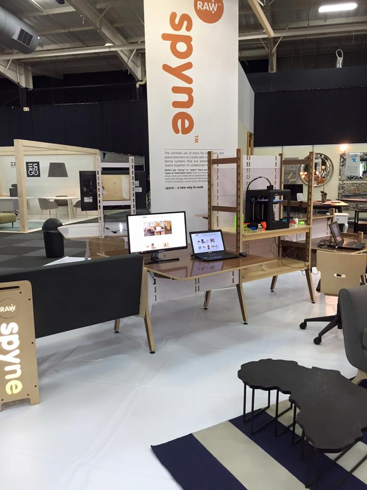 office furniture trade shows. Raw Studios Office Furniture Insider Trade Show InAwe Stand 2016 Shows O