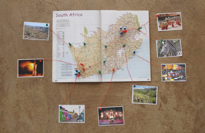 Raw Studios design inspiration SA Travel map