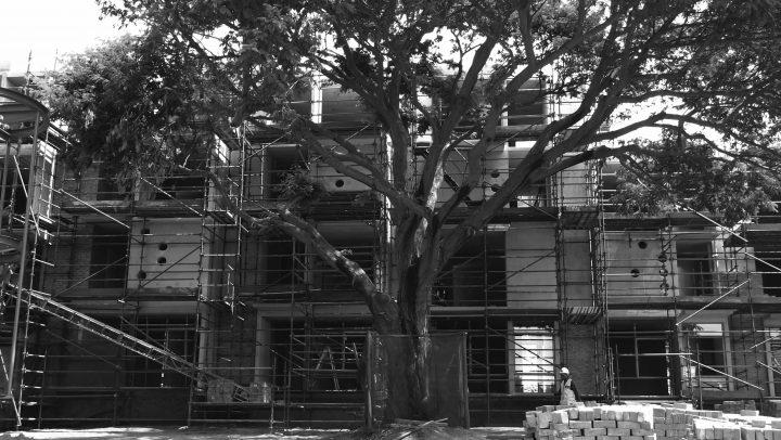 Future Africa Institute site construction