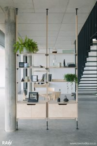 RAW Studios Stilts Shelves