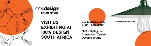 Visit us at 100% Design 9-13 August 2017