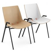 Stak Chair™ 101, Steel base