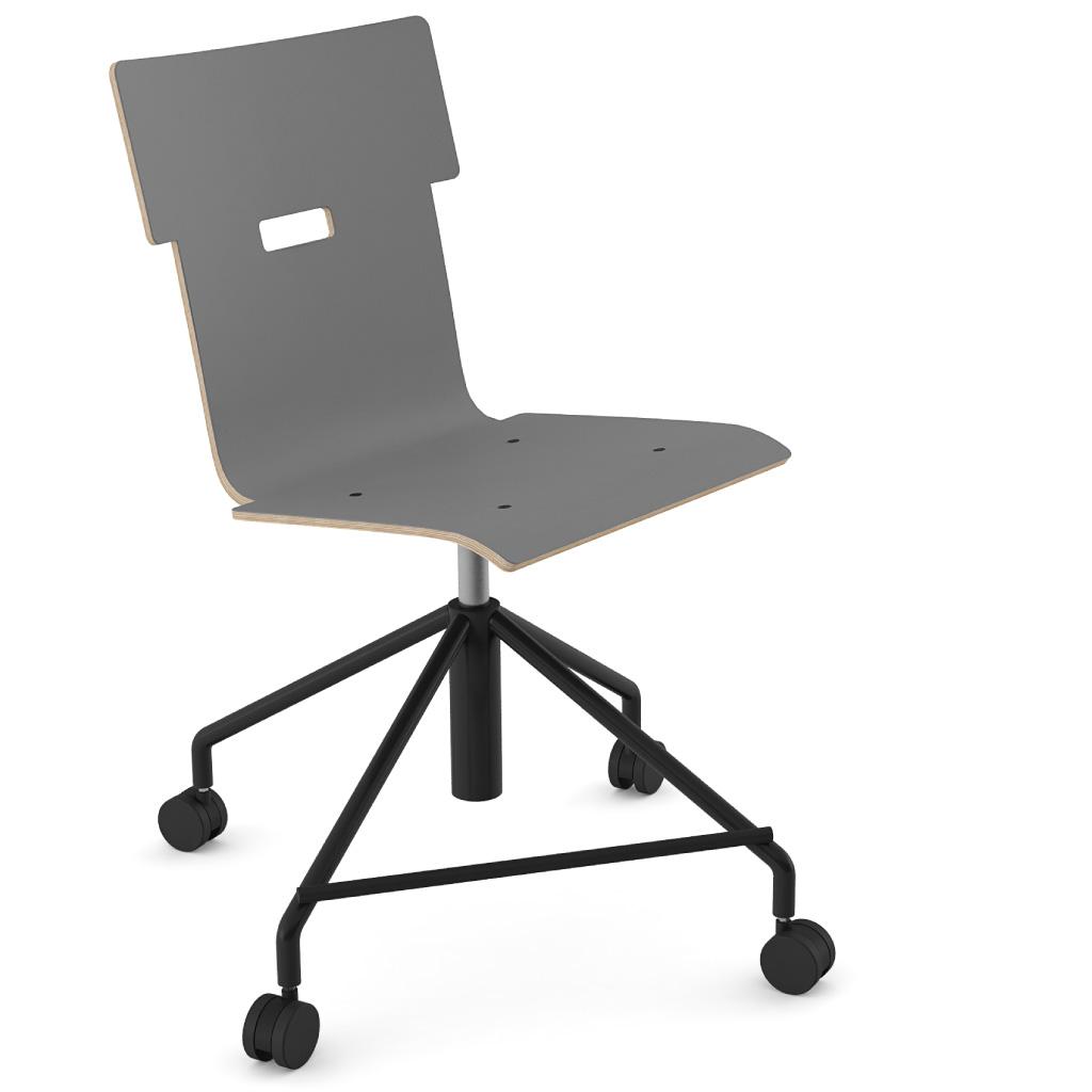 Handi Chair 101 (Storm Grey HPL)