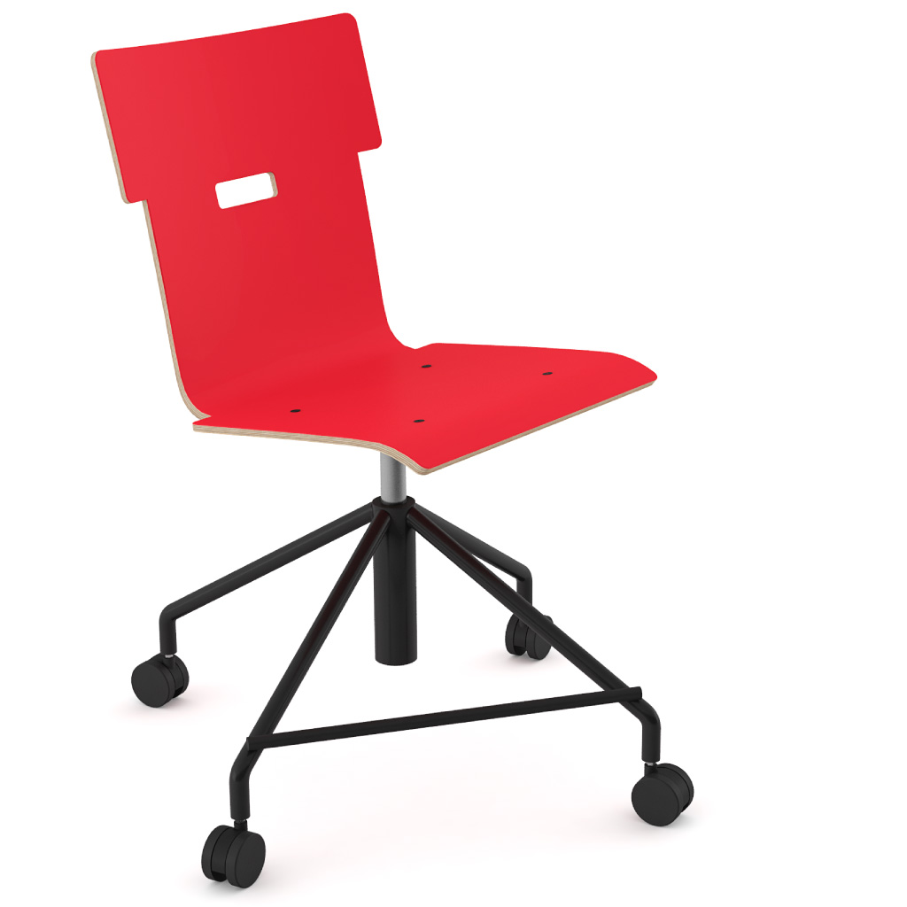 Handi Chair 101 (Carmine Red HPL)