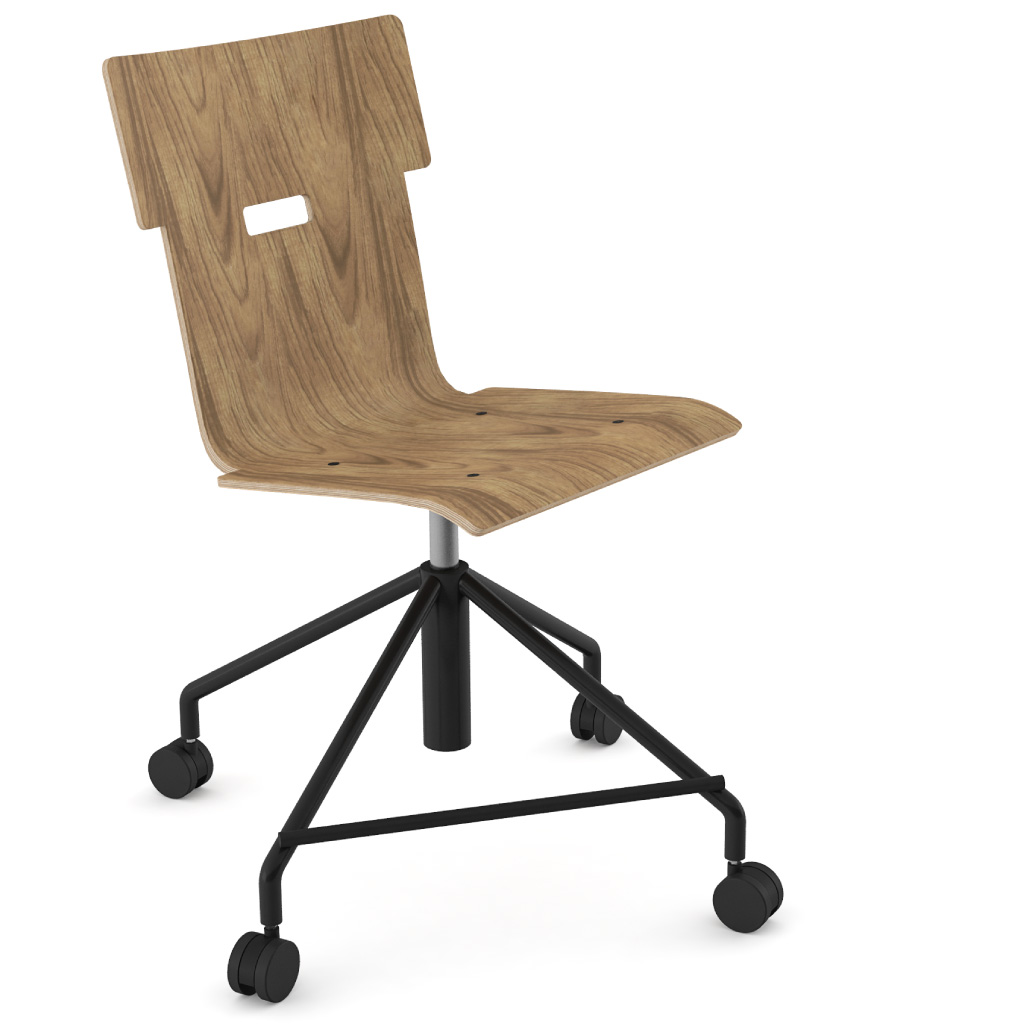 Handi Chair 101 (Walnut HPL)