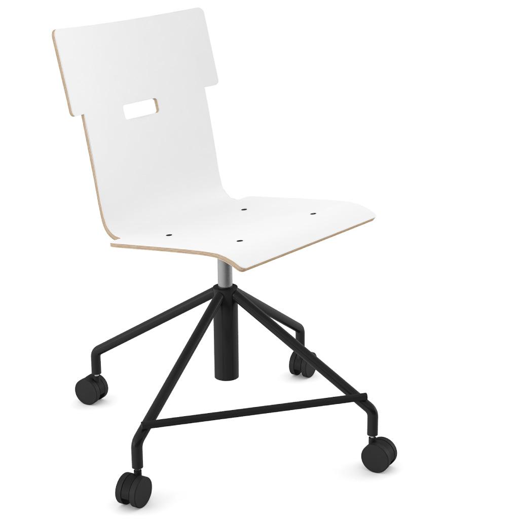 Handi Chair 101 (Icy White HPL)