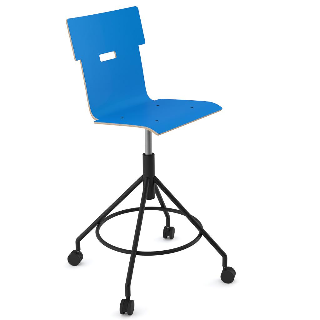 Handi Chair Tall 102 (Ultra Blue HPL)
