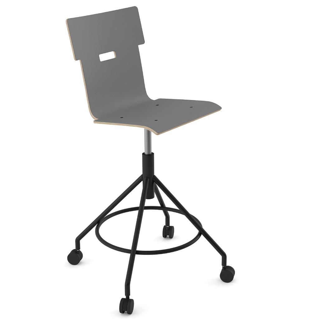 Handi Chair Tall 102 (Storm Grey HPL)