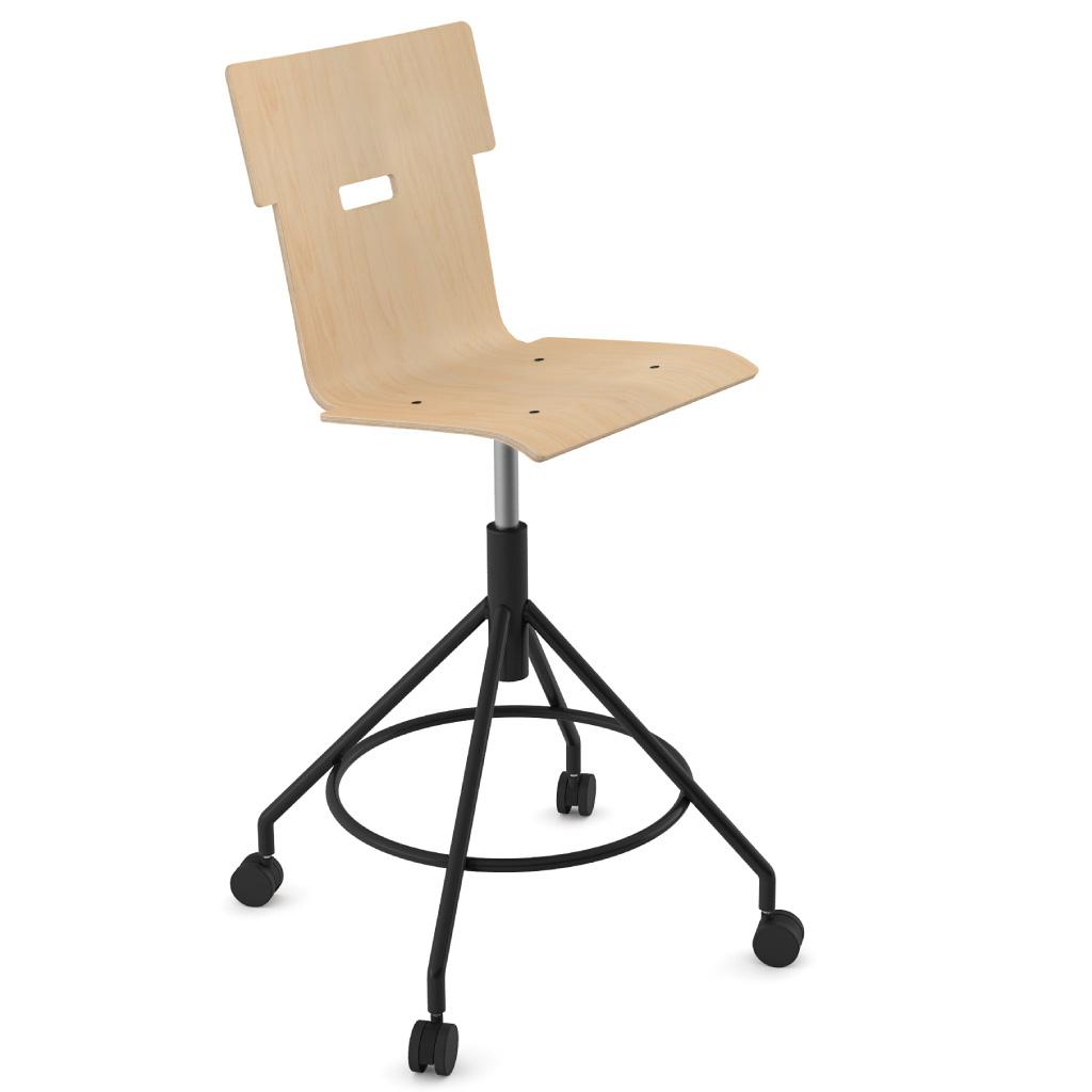 Handi Chair Tall 102 (Natural Birch)