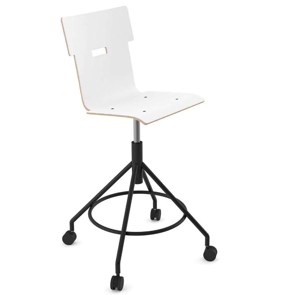 Handi Chair Tall 102 (Icy White HPL)