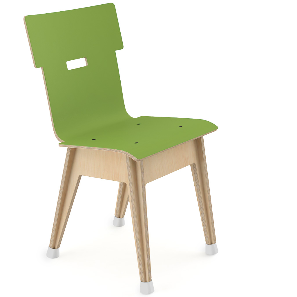 Din+™ Chair 100 (Cactus Green HPL)