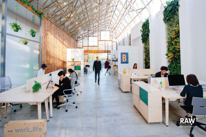 RAW Epik workspace range Greenhouse office work life furniture