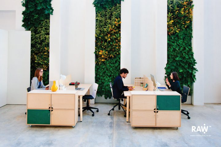 RAW Epik workspace range Greenhouse office work life workstation desk storage furniture