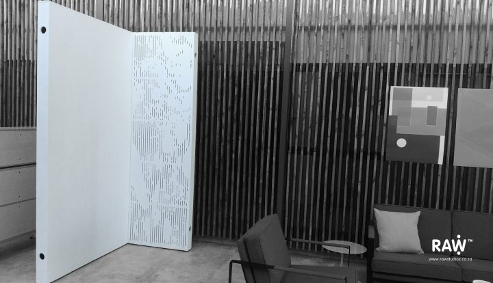 RAW Studios WallSpace multi functional walling system screening