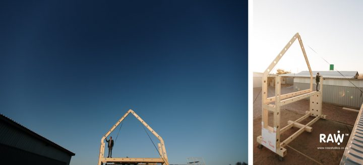 RAW Studios' modular affordable timber frame buildings and homes